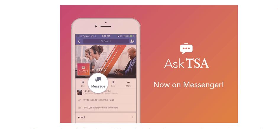 TSA Readily Available on Social Media