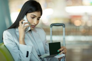 business traveler threats