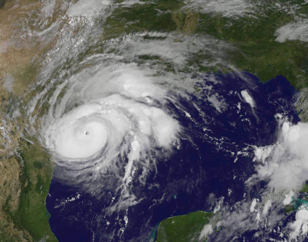 Leaving Houston Before Hurricane Harvey's Landfall
