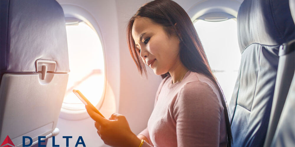 Delta Releases Automatic Check-in and In-Flight Messaging