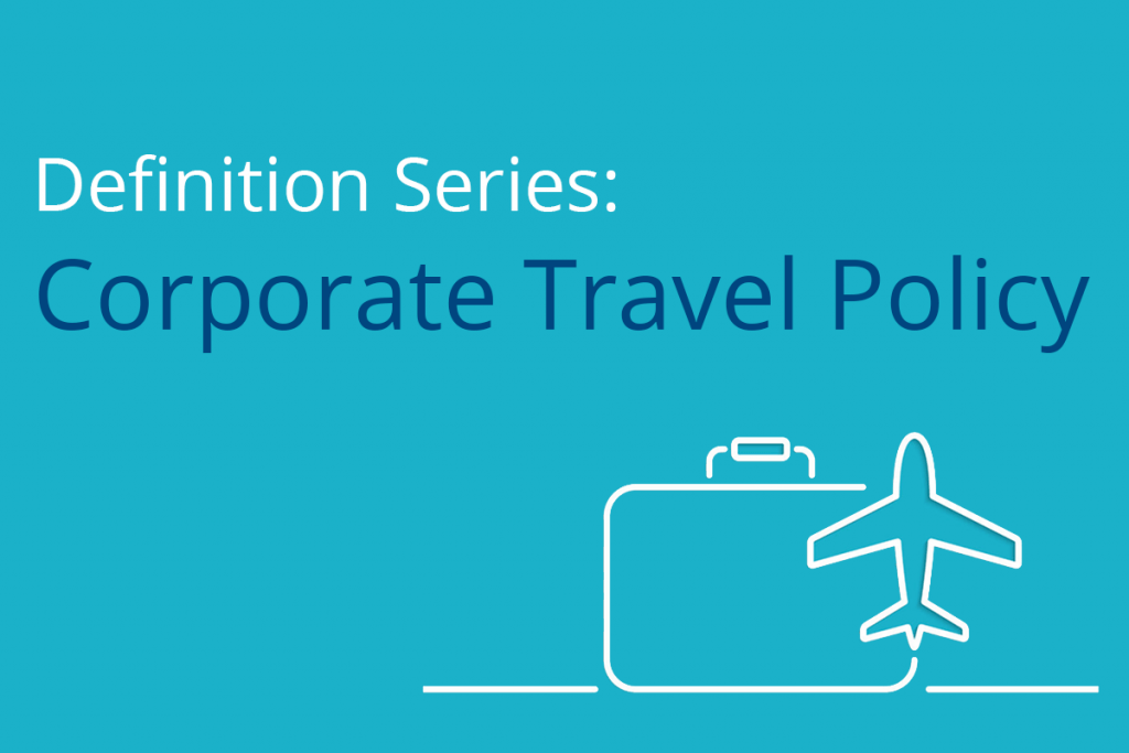 Corporate travel policy