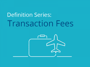 business travel transaction fees