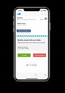 Travel Risk Management Tool
