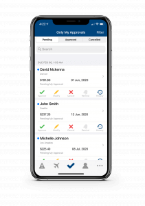 Mobile App For Corporate travel Managers