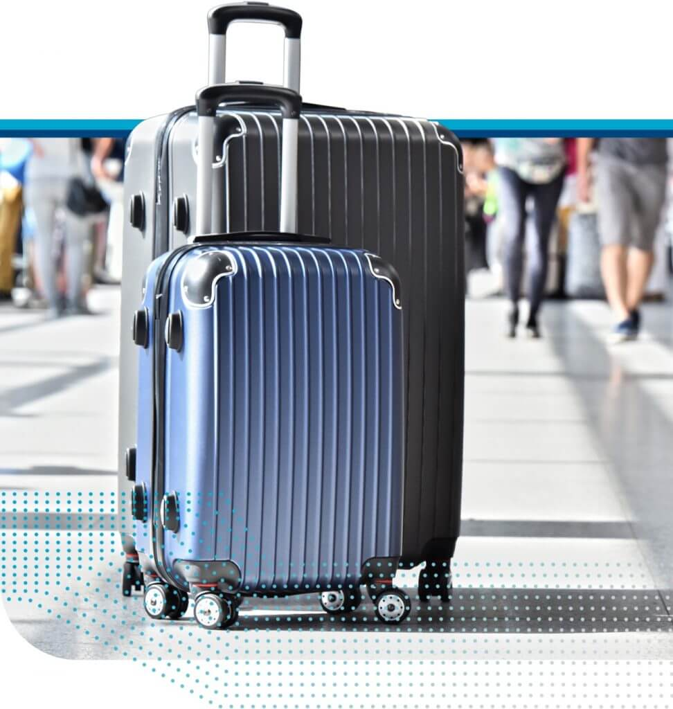 Suitcases for Corporate Travel, Luxury Vacation Planning, and Humanitarian Travel