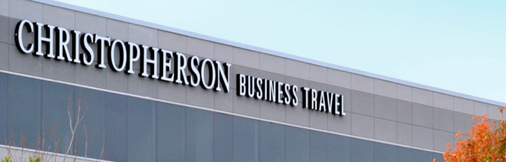 Corporate Travel Agency Building Exterior - Christopherson Business Travel